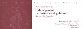 i management
