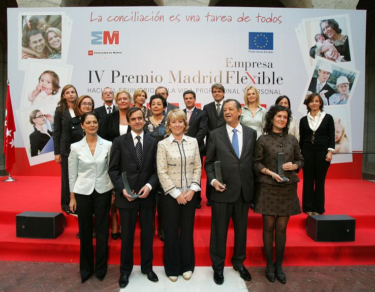 Iv premio madrid empresa flexible - Empresas interiorismo madrid ...