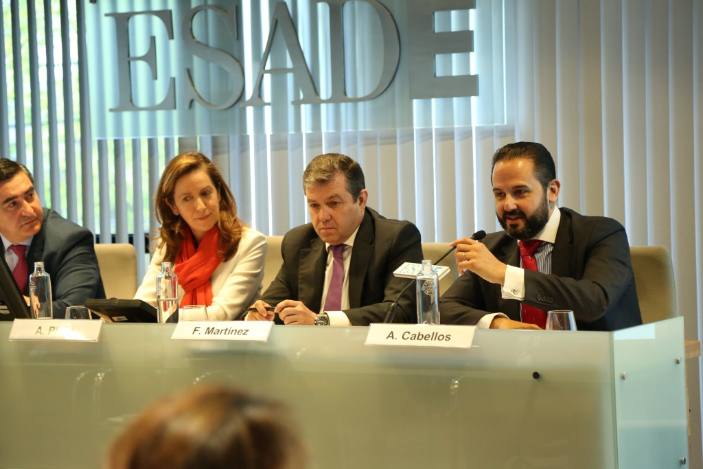 Intervención de Alberto Cabellos, Director de Gobierno de RRHH de Gas Natural-Fenosa