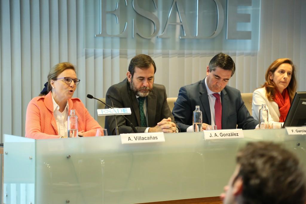 Intervención de Ana Villacañas, Directora General de Organización, Recursos Humanos, Sistemas de Información y Compras del Grupo FCC