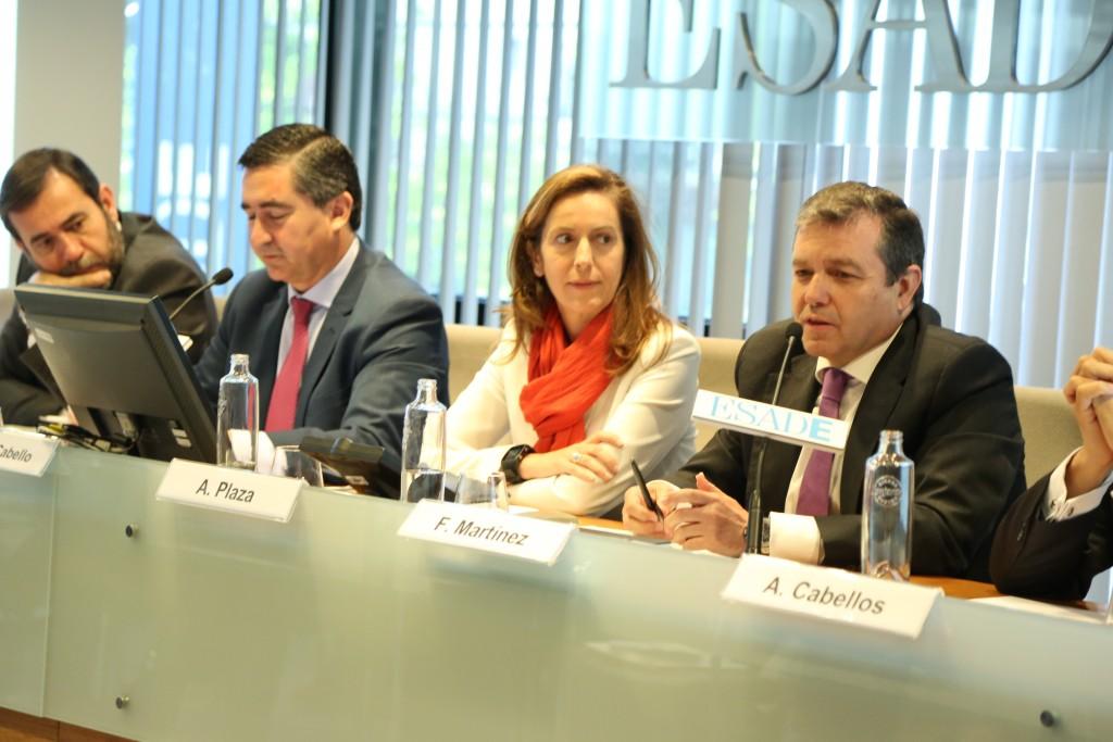 Intervención de Francisco Martínez. Director de Gestión de Personas y del Conocimiento en Bankinter