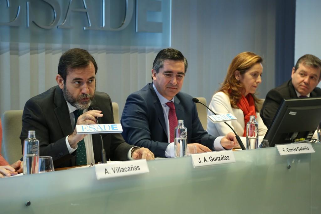 Intervención de José Antonio González. Director de Relaciones Laborales Iberia en Hewlett-Packard y   Presidente del Club de Dirección de Personas y Organización de ESADE-Madrid