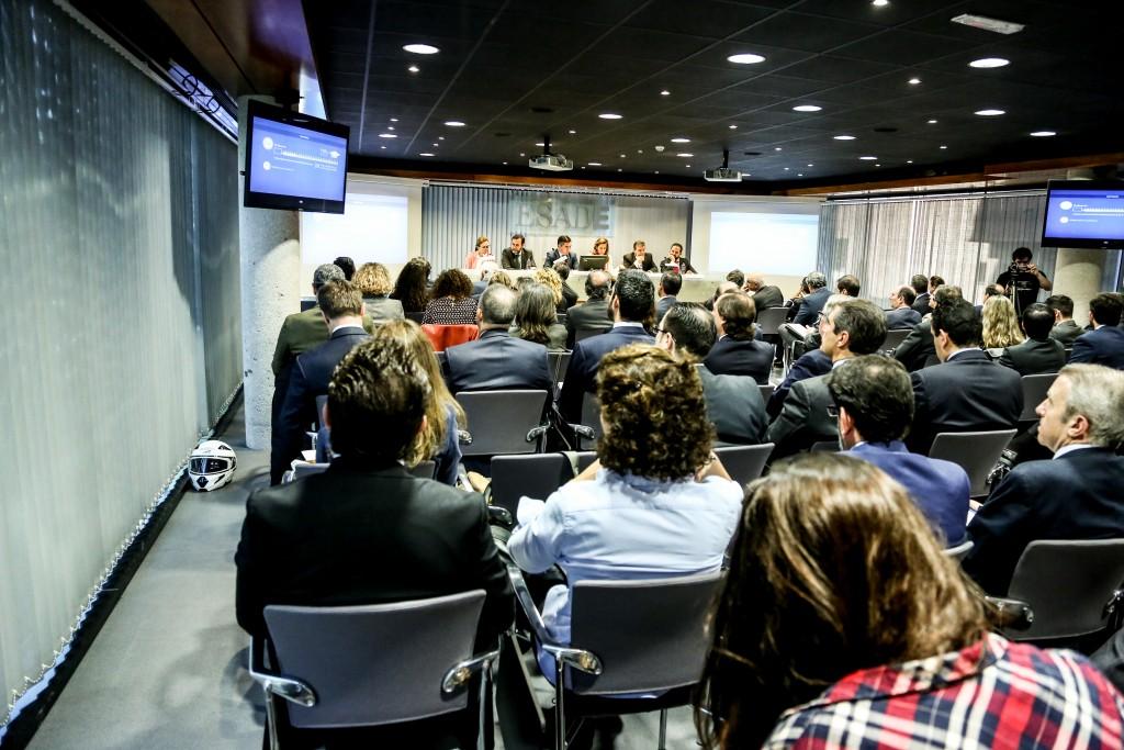El salón de actos de ESADE repleto de profesionales