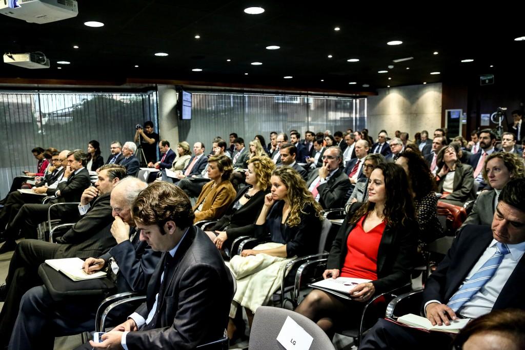 El salón de actos de ESADE repleto de profesionales de los RRHH