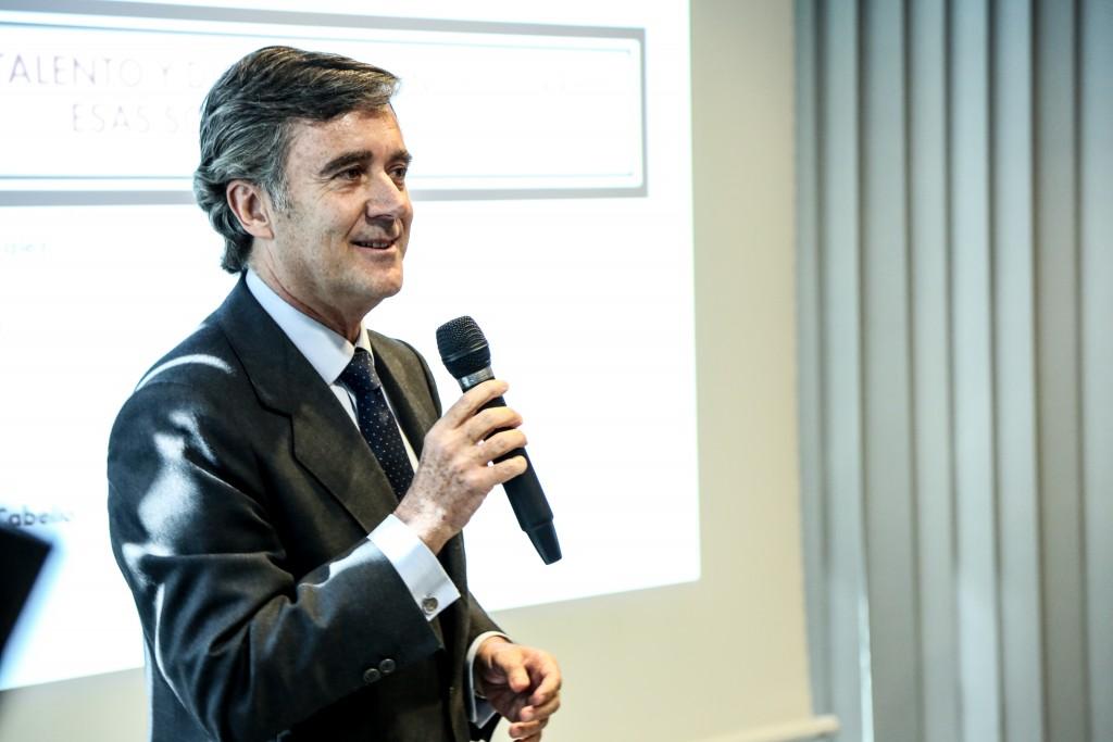 Tomás Pereda Riaza, Distinguido Foro RRHH 2015, se dirige a los asistentes