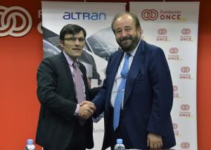 Acuerdo ONCE y Altran