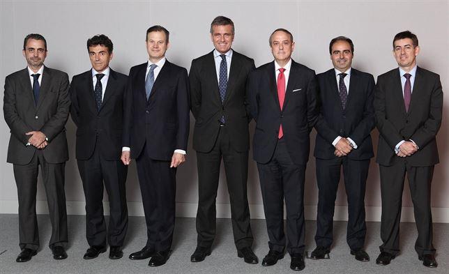 Nuevo equipo directivo de PwC España