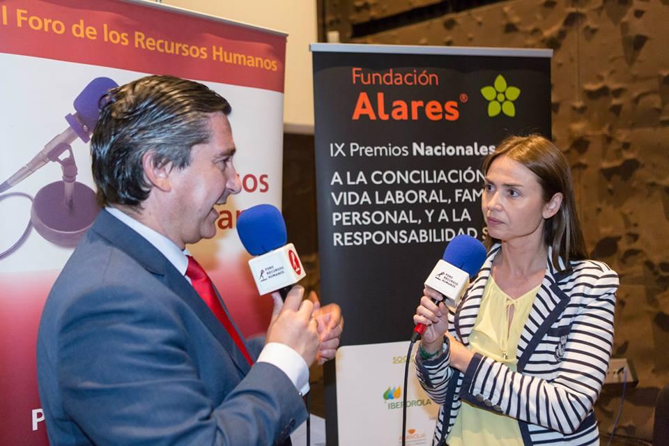 El director del Foro RRHH entrevista a Susana Posada, de Leroy Merlin