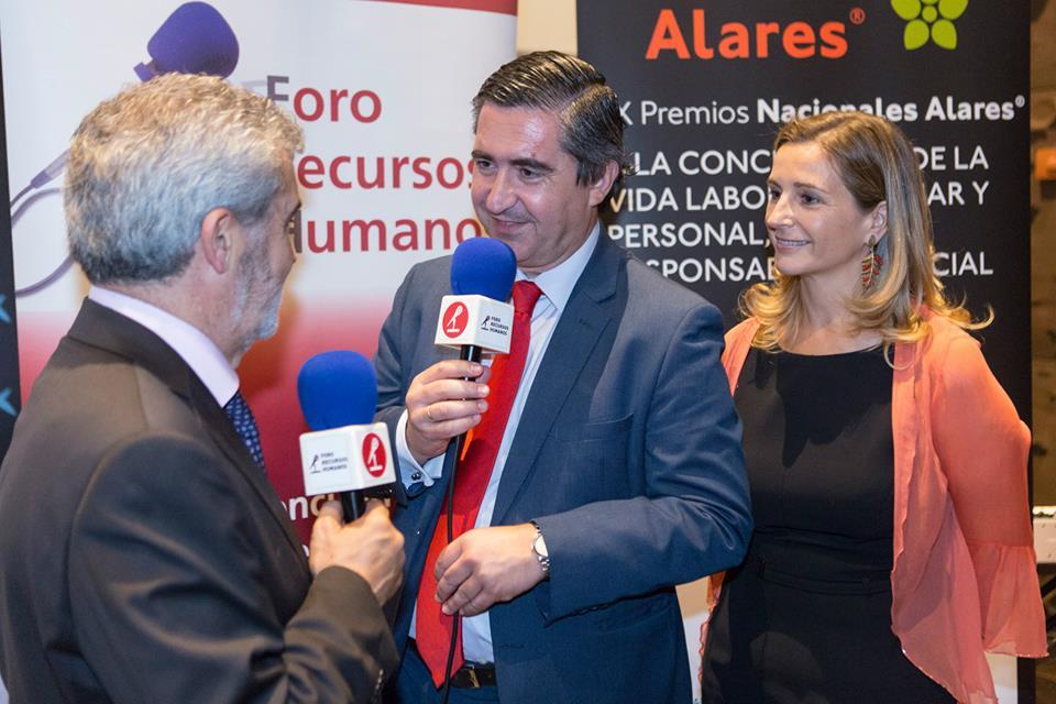 El fundador del Foro RRHH entrevista a Francisco Benavente y Mercedes Pescador, de Arales