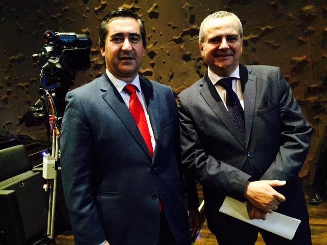 Francisco García Cabello y Juanma Romero