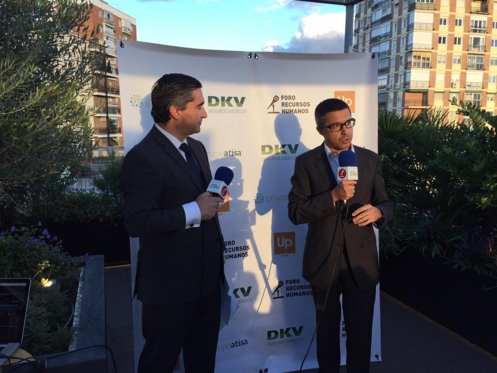 El director del Foro RRHH entrevista a Javier Formariz, Director Canal Alianzas y Grandes Cuentas de DKV