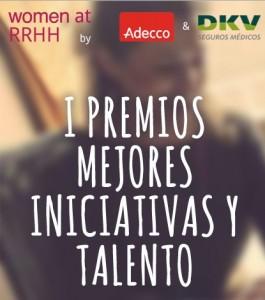 I Premios Mejores Iniciativas y Talento Women at RRHH