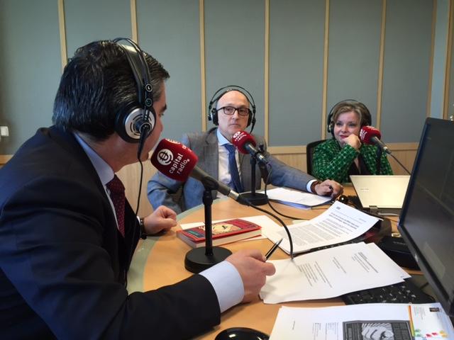 Francisco García Cabello, Andreu Agustí Angelats y Mercedes Ocaña Aguirre