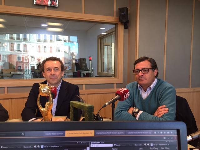 Juan Manuel Martín y Pablo Vega