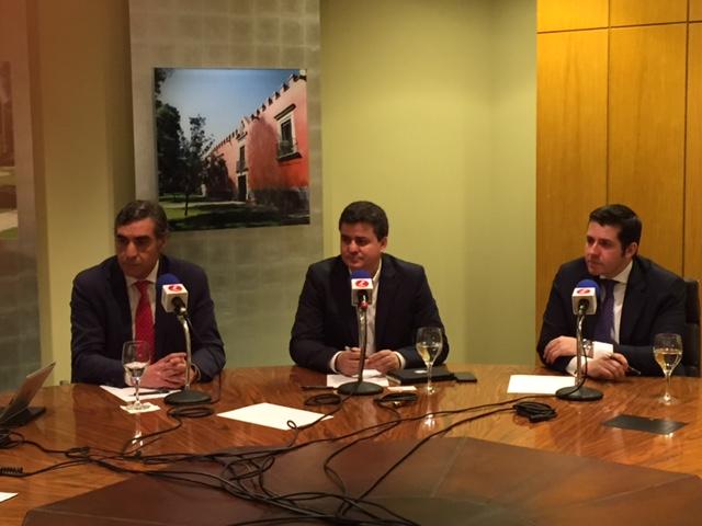 Alberto Arribas, Roberto Sanchez y Francisco Manzano