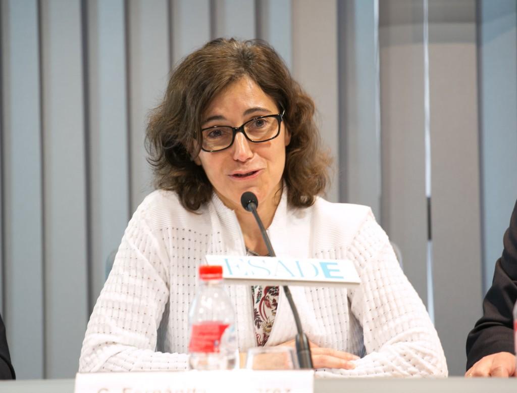 """""""Propongo alejarnos de propuestas más o menos manidas y centrarnos en crear verdaderas realidades de diversidad de talento"""", dijo Carmen Fernández Álvarez"""