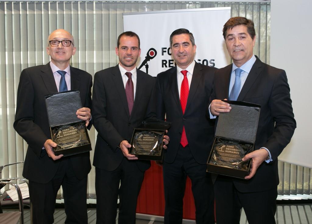Andreu Agustí, Salvador Sanchís, Francisco García Cabello y Luis Expósito