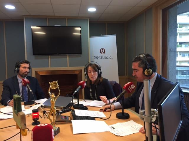 Beatriz Sanz, Sergio Fernández, Alberto Ruiz, Silvia de la Loma y Francisco García Cabello