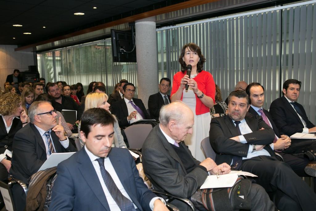 Dulce Subirats, Presidenta de Aedipe Centro, habló sobre el reto de la transformación digital