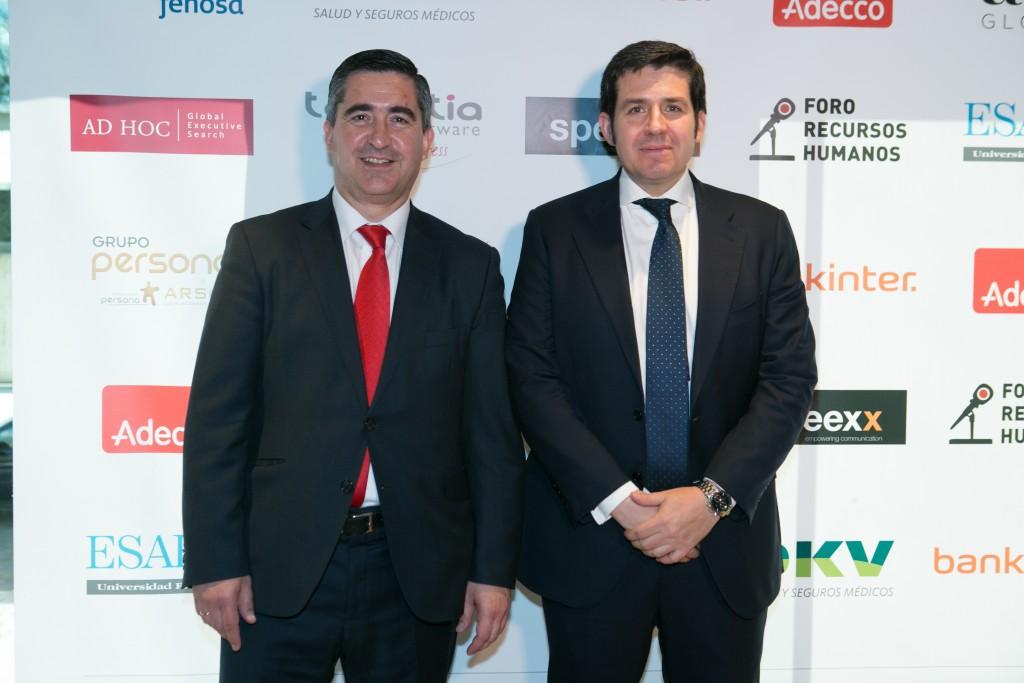 Francisco García Cabello con Francisco Manzano, Socio director general de AD HOC Executive Search