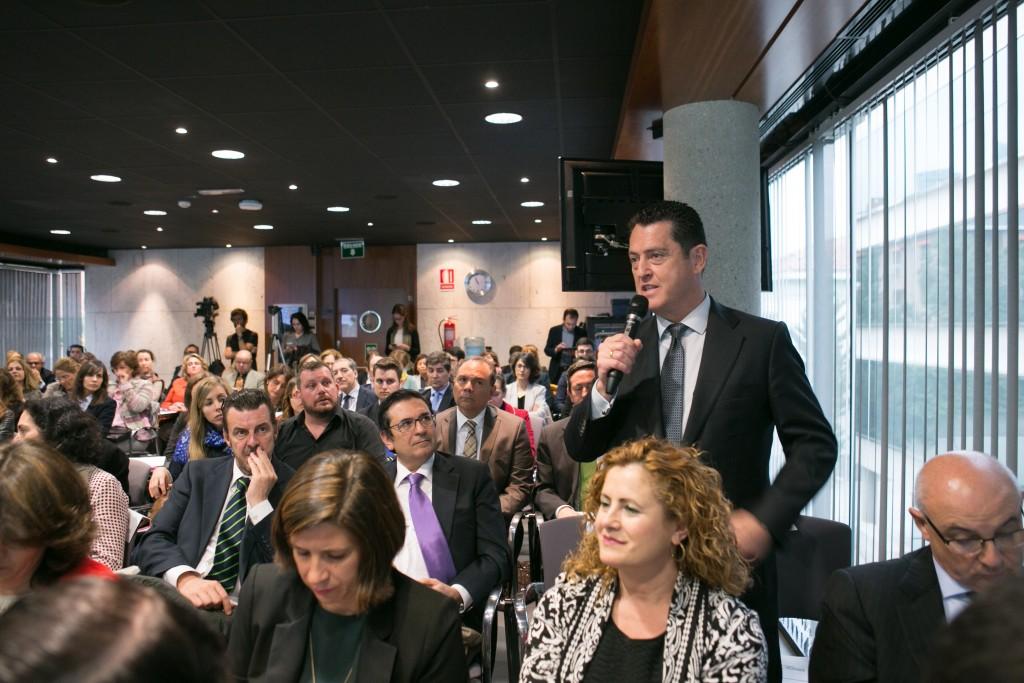 Juan Carlos Pérez Espinosa, Presidente de DCH, también intervino