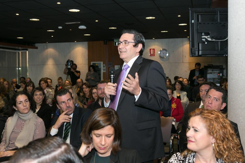 Pedro García-Cano, Country Manager de TMP Worldwide Spain, dando su opinión