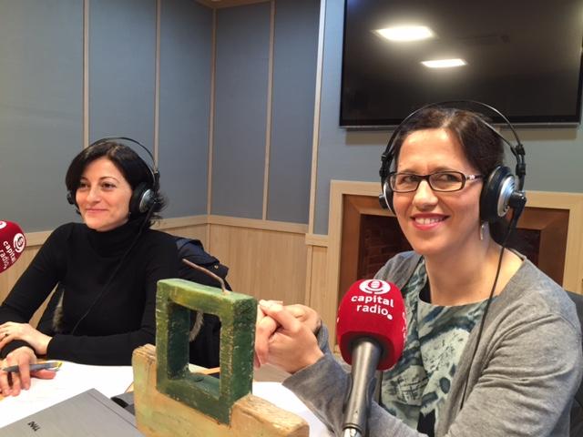 Sara Abad y Silvia Lázaro, de Ferrovial