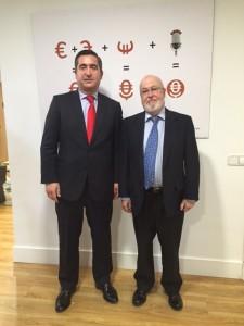 Francisco García Cabello con Ángel Alloza, CEO de Corporate Excellence
