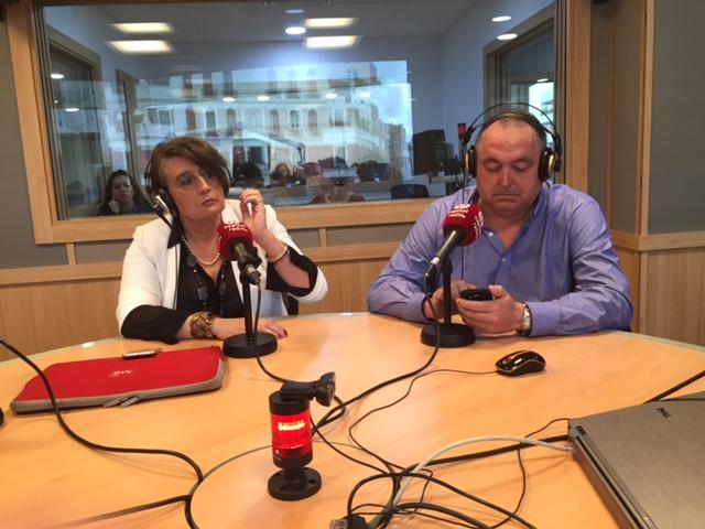 Juan Luis Rodríguez, Innovation Manager de Repsol, y Eva Díaz, CEO de Innohub