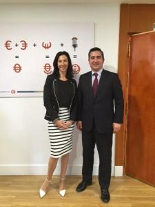 Sandra Romain y Francisco García Cabello