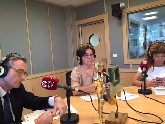 Aitor J. Bilbao Elizondo, Teresa Blanco y Ángela Redondo