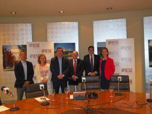 Antonio Fernández, María Jesús Biechy, Francisco García Cabello, Sandalio Gómez, Francisco Manzano y Cristina Rodríguez