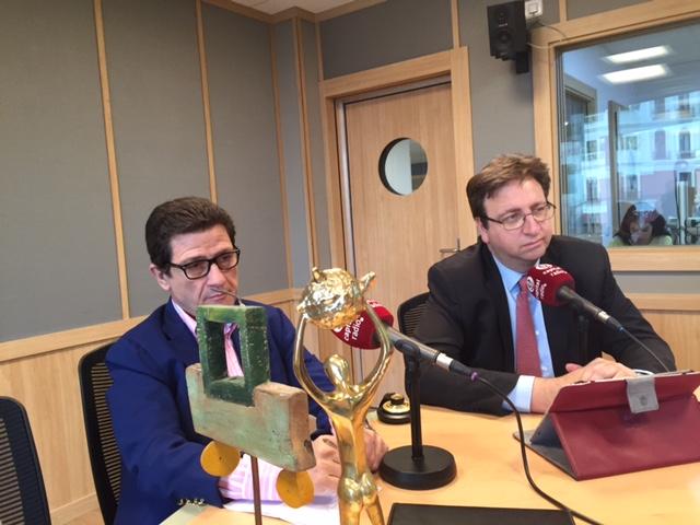 Antonio Peñalver y Antonio Burgueño