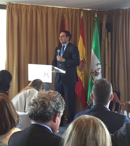 Francisco Javier Fernández, Consejero de Turismo de Deporte de la Junta de Andalucía
