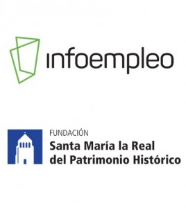 Infoempleo y Santa María la Real del Patrimonio Histórico