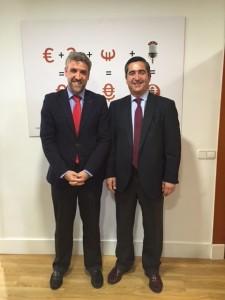 Javier Vicente Pérez y Francisco García Cabello