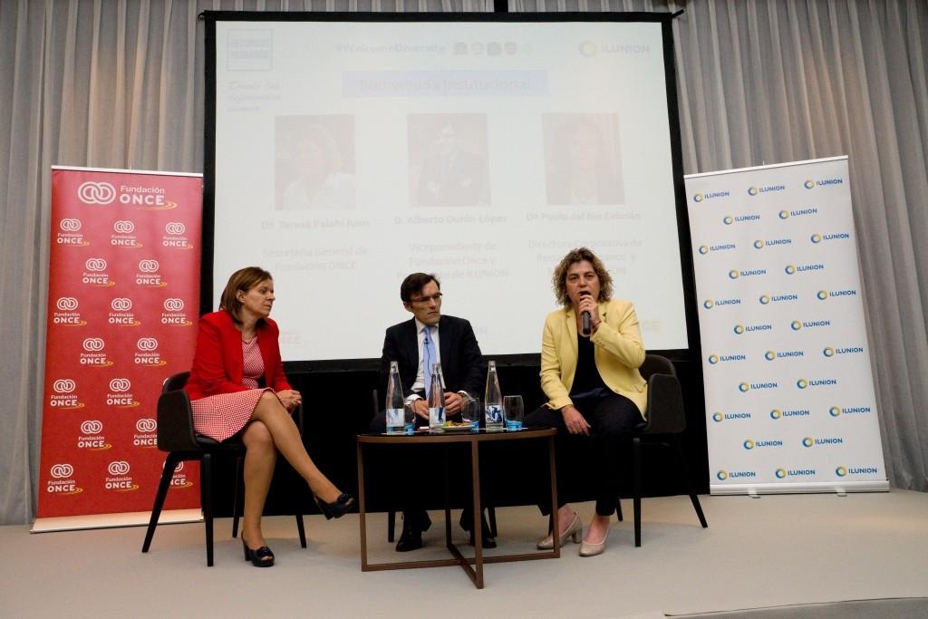 Teresa Palahí, Alberto Durán y Paola del Río