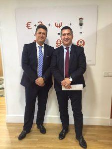 Javier Vega y Francisco García Cabello