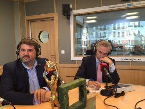 Eugenio de Andrés y Juan Carlos de la Osa