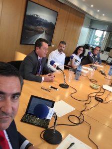 Francisco García Cabello, Juan Carlos Pérez Espinosa, David Jiménez, Elena Giménez y Javier Margalet