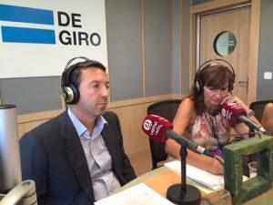 Gabriel de Diego y Emma Marín
