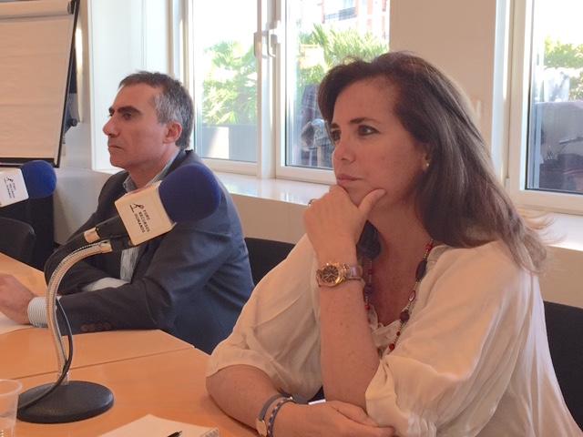 Luis García Peñafiel y Marta Muñoz