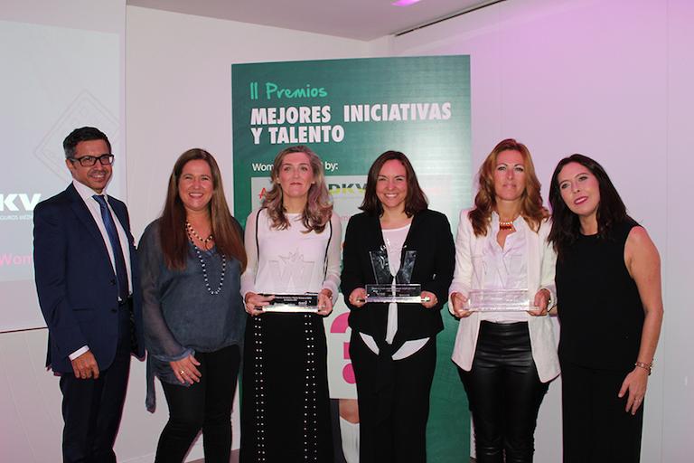 Javier Formariz, María Gómez del Pozuelo, Remedios Miralles, Ana Tejedor, Mireia Vidal y Susana Sosa