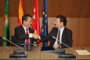 Juan Carlos Pérez espinosa y Antonio Álvarez-Ossorio Alvariño