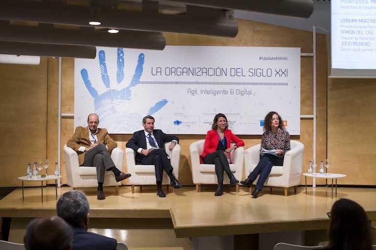 Montse Mateos, Izanami Martínez, Julio Moreno y Ramón Del Caz
