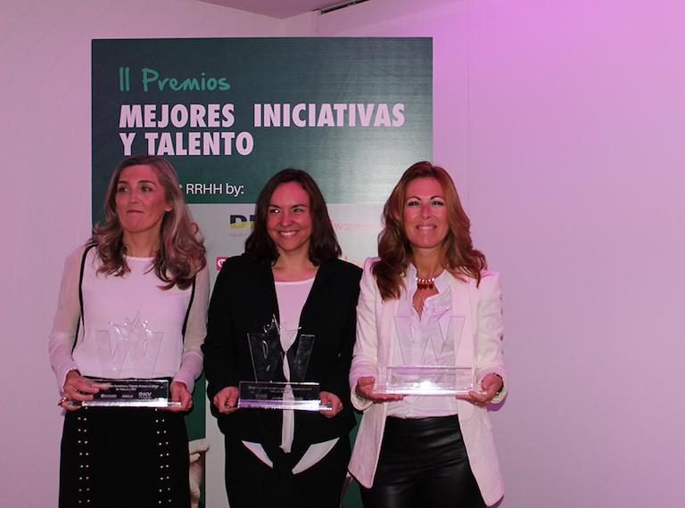 Remedios Miralles, Ana Tejedor y Mireia Vidal
