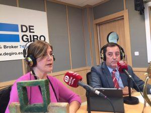 Silvia Martín y Gustavo García