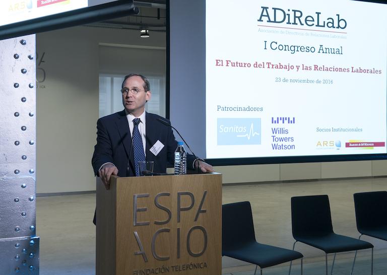 Bernardo Quinn, Director Global de RRHH de Telefónica