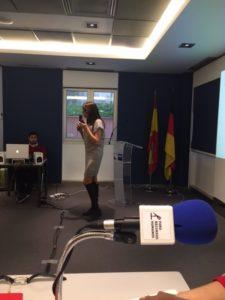 Elena Cascante, Presidenta de la Asociación 50Plus