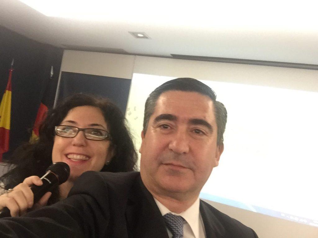 Elena Giménez y Francisco García Cabello